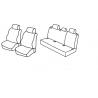 Housses Auto sur Mesure HARMONY  AUDI  A3 5 Portes  Sans Accoudoir 2004 à 2012