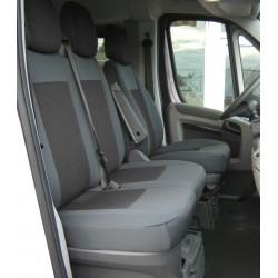 Housse de siège sur mesure  utilitaire  Trucks  Citroen Jumpy De 01 / 2007 à 04  / 2016