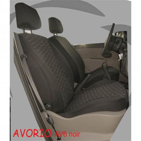 Housse de siège  auto sur mesure  Peugeot  Rifter De 08 2018 à aujourd'hui  3 sièges arrière