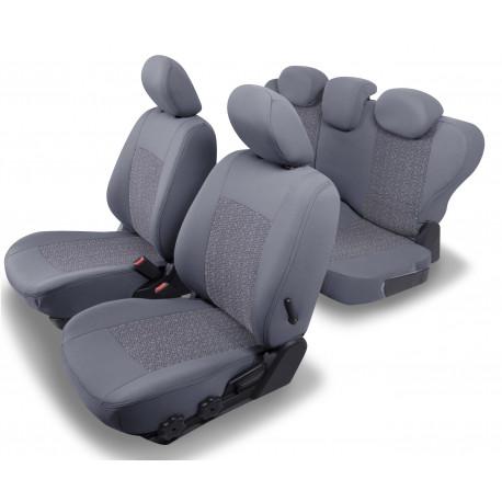 Housses Auto sur Mesure HARMONY  AUDI Q3  Sans accoudoir arrière De 2011 à 2018