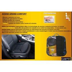 accessoire interieur auto coussin rehausseur assise grand confort pour voiture