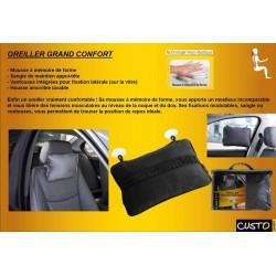 accessoire auto interieur oreiller grand confort pour voiture