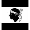 Tapis de sol auto universel moquette Logo Corse