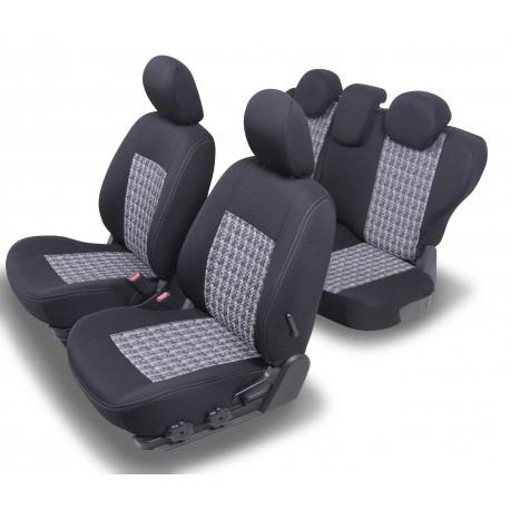 Housses Auto sur-mesure  FORD FOCUS 3  4 Portes  2011 à 2018  Siège  Classic Sans accoudoir arrière