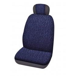 Housses de siège universelle jeans bleu la paire 2 places