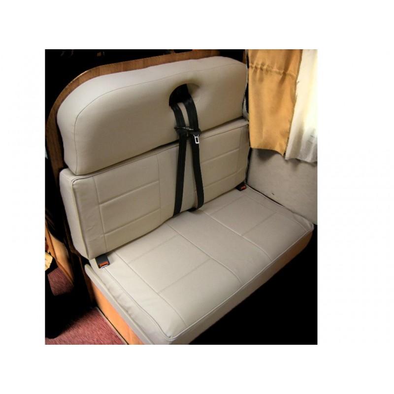 Housse de si ge sur mesure pour camping car simili cuir for Housse siege camping car