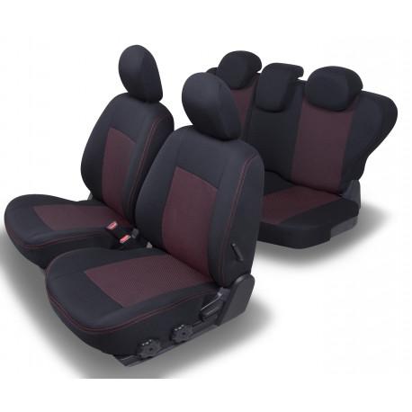 Housses Auto sur-mesure Fiat Panda Dinamic De 2003 à 2012