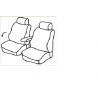 Housses Utilitaires  sur Mesure Renault Kangoo Avec accoudoir De 2008 à aujourd'hui