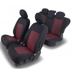 Housses Auto sur Mesure  Nissan QASHQAI  Avec  Accoudoir arrière  De 2007 à 2014