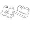 Housses Auto sur Mesure  Nissan QASHQAI VISIA De 2014 à aujourd'hui