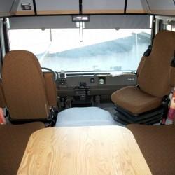 Housses de sièges  sur mesure Camping Car Majorque CONFIGUREZ ICI