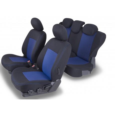 Housses sièges auto sur mesure Toyota Corolla Sedan Avec accoudoir arrière de 2017 à aujourd'hui