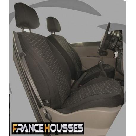 Housse de siège auto sur mesure Privilege Citroen C3 phase 1 De 04 2002 à 12 2010