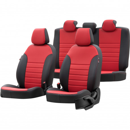 Housses Auto sur Mesure Simili Cuir AUDI Q5 Sièges CLASSIC 5 PORTES 2009 à 2015