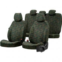 Housses sièges auto chasse  sur mesure Toyota Hilux de 2006 à 2014