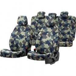 Housses sièges auto chasse  sur mesure ISUZU DMAX De 2020 à aujourd'hui