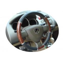 Couvre Volant Auto Imitation bois Diamètre  37 / 39