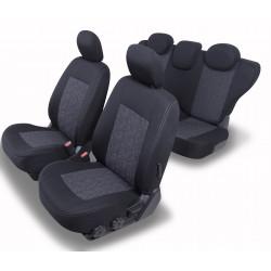 Housses sièges auto sur mesure SKODA KAROQ de 2017 à aujourd'hui. Avec 3  DOSSIERS ARRIERE