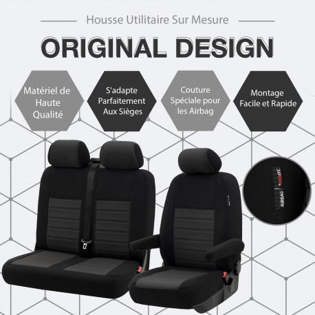 HOUSSE UTILITAIRE SUR MESURE Peugeot Partner De 2019 à aujourd'hui