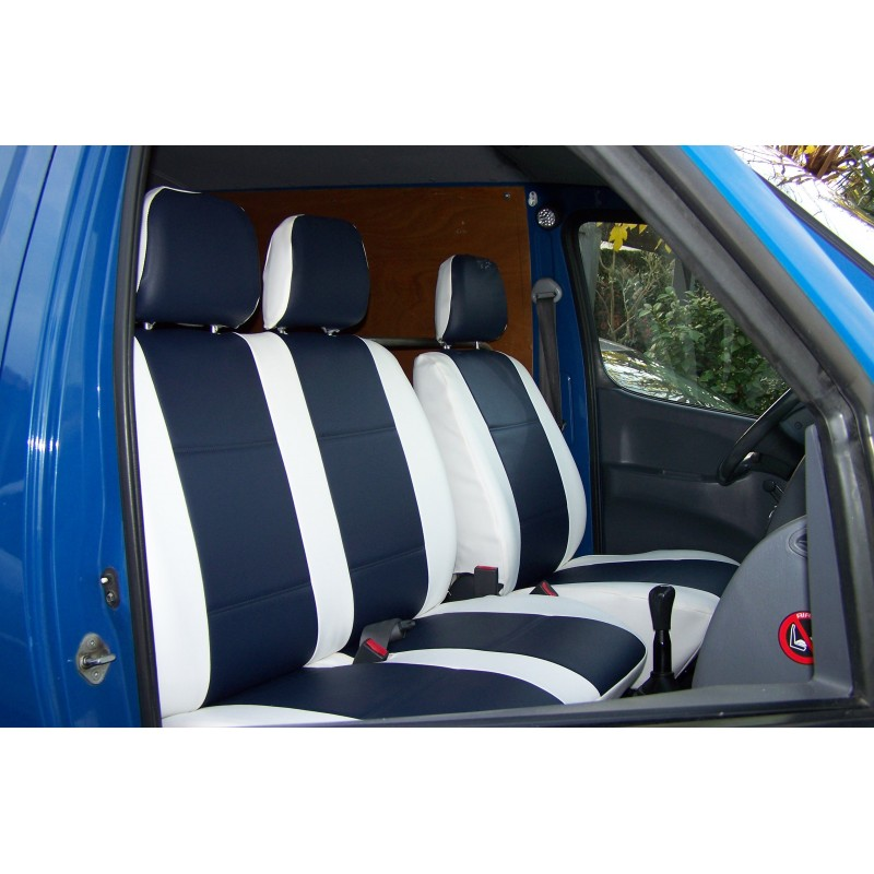 housse de si ge sur mesure simili pour voiture utilitaire. Black Bedroom Furniture Sets. Home Design Ideas