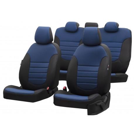 Housses sièges  Auto sur Mesure Simili Cuir  NISSAN NAVARA  5 PLACES De 2006 à  2012 Sans Accoudoir arriere