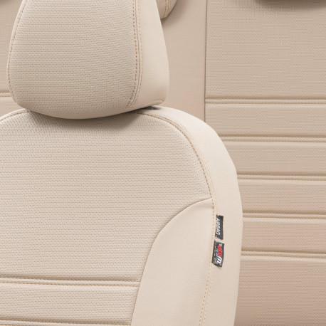 Housses sièges  Auto sur Mesure Simili Cuir  NISSAN NAVARA  5 PLACES De 2006 à  2012 Avec Accoudoir arriere