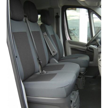 Housse de siège sur mesure  utilitaire Trucks Nissan Primastar  ( De 07/2001 à 09/2014 )