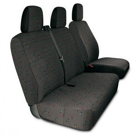 Housses de sièges sur mesure utilitaires pour Ducato Boxer Jumper jusqu'à 2006