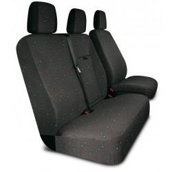 Housses de sièges  sur mesure utilitaires  Mercedes Sprinter  Crafter  avec tablette de 2006 à aujourd'hui