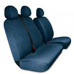 Housses de sièges sur mesure utilitaires Renault Trafic  Vivaro Primastar De 2001 à 2013