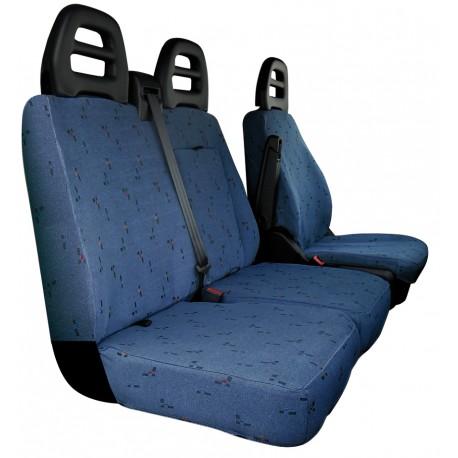 Housses de sièges sur mesure utilitaires  Iveco Daily avec tablette De 2014 à aujourd'hui