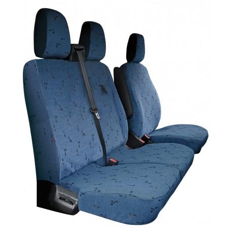 Housses de sièges sur mesure utilitaires  Ford Transit De 2013 à aujourd'hui