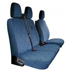 Housses de sièges sur mesure utilitaires  Ford Transit Custom avec tablette  De 2013 à aujourd'hui