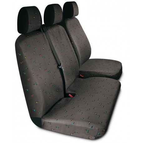 Housses de sièges sur mesure utilitaires Volkswagen Transporter T5 De 2003 à 2015
