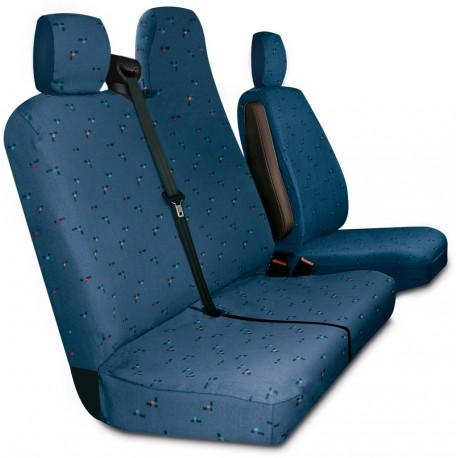 Housses de siège sur mesure utilitaires   Movano  Master  Nissan NV400 De 2010 à aujourdui