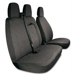 Housses de sièges sur mesure utilitaires pour Ducato Boxer Jumper De 2014 à aujourd'hui