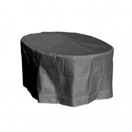 Housse de protection  table de jardin ovale Hauteur  70 cm x Longueur 240 cm x Largeur 110 cm