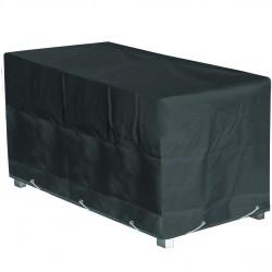 Housse de protection table de jardin rectangulaire Hauteur  70 cm x Longueur 200 cm x Largeur 130 cm