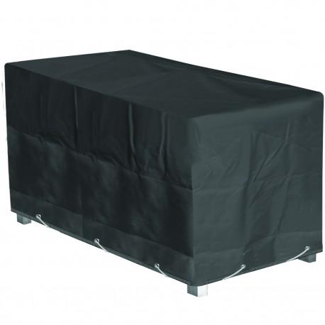 Housse de protection table de jardin rectangulaire Hauteur  60 cm x Longueur 200 cm x Largeur 130cm