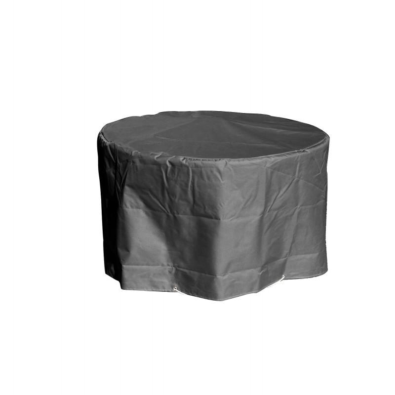 housse de protection table de jardin ronde diam tre 120 cm. Black Bedroom Furniture Sets. Home Design Ideas