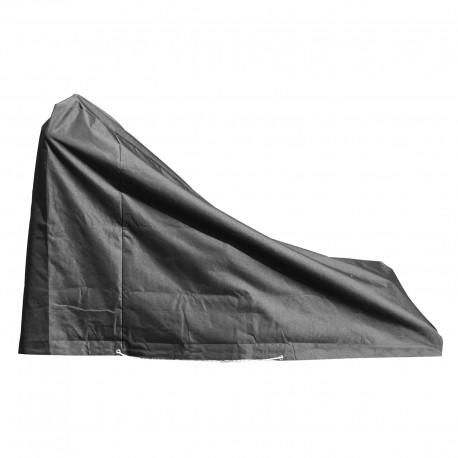 Housse de protection pour tondeuse et tracteur de jardin Longueur 1,90 cm x Largeur 80 cm x Hauteur du bras 110 / 40 cm