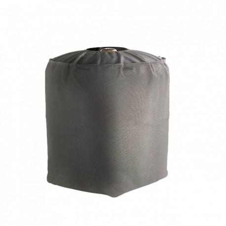 Housse de protection imperméable bouteille de gaz haute qualité , doublée pvc  L35 x I 35 x H 40 cm