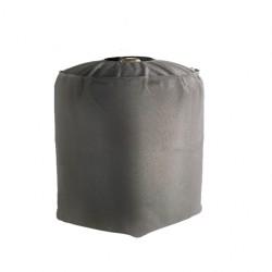 Housse de protection imperméable bouteille de gaz haute qualité , doublée pvc  L36 x I 36 x H 50 cm