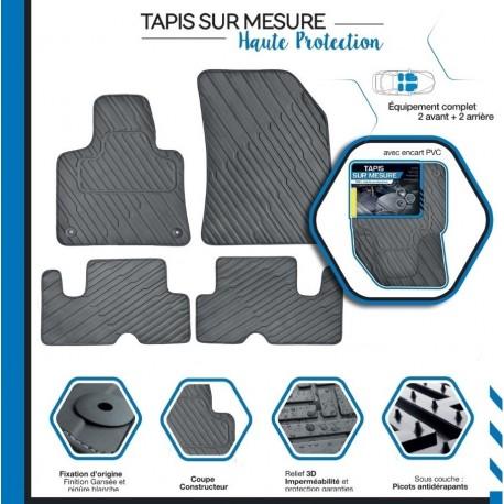 Tapis de sol auto sur mesure PVC  pour Renault TWINGO 2 De 2007 à 2014