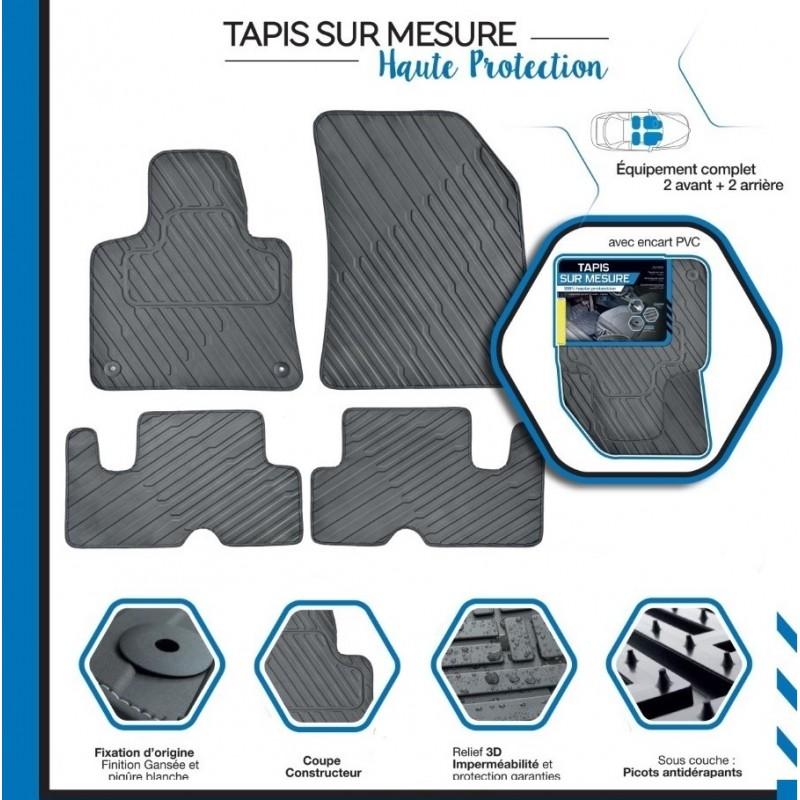 tapis de sol auto pvc sur mesure pour audi a3. Black Bedroom Furniture Sets. Home Design Ideas