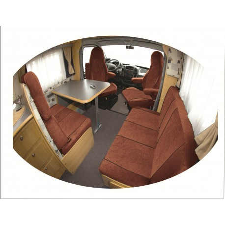 Housse de siège  sur mesure  camping car  PRESTIGE CONFIGUREZ ICI