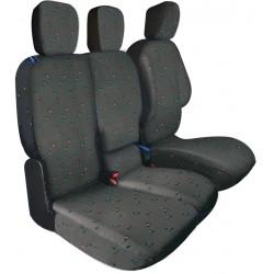 Housses de sièges sur mesure utilitaires Berlingo Partner 3 Places Depuis 2008