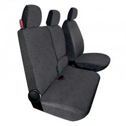 Housses de sièges sur mesure utilitaires Fiat Doblo De 2015 à aujourd'hui