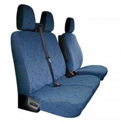 Housses de sièges sur mesure utilitaires Ford Custom sans tablette De 2013 à aujourd'hui