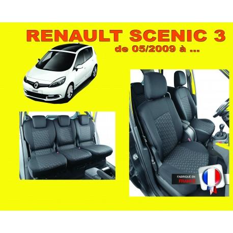 Housse de siège auto sur mesure Privilège Renault Scenic 3